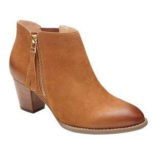 Vionic Sterling Saddle Brown Ankle Boot
